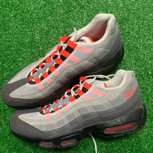 Nike Other - Nike Air Max 95 OG Solar Red 10.5